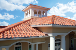 Roofing contractor for clay tile installation